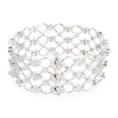 Kwiat Kwiat Jasmine Diamond Bracelet in 18KT White Gold 5 28 CTW - 1287716
