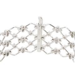 Kwiat Kwiat Jasmine Diamond Bracelet in 18KT White Gold 5 28 CTW - 1287717