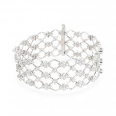 Kwiat Kwiat Jasmine Diamond Bracelet in 18KT White Gold 5 28 CTW - 1289307