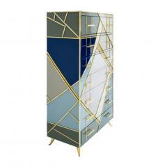 L A Studio L A Studio Mid Century Modern Murano Glass Italian Sideboard - 1064970