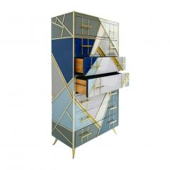 L A Studio L A Studio Mid Century Modern Murano Glass Italian Sideboard - 1064971