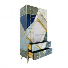 L A Studio L A Studio Mid Century Modern Murano Glass Italian Sideboard - 1064972