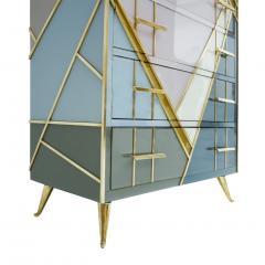 L A Studio L A Studio Mid Century Modern Murano Glass Italian Sideboard - 1064973