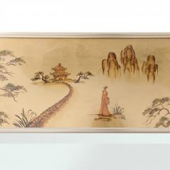 La Barge Chinoiserie Wall Mirror by LaBarge - 614397
