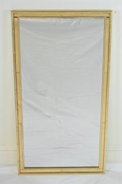 La Barge Pair of Faux Bamboo Gilt and Mirrored Frame Mirrors - 2124426