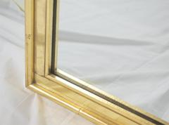La Barge Pair of Faux Bamboo Gilt and Mirrored Frame Mirrors - 2124430