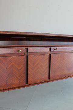 La Permanente Mobili Cant 1950s Italian Rosewood Sideboard by Cantu Furniture Artisans - 710566