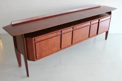 La Permanente Mobili Cant 1950s Italian Rosewood Sideboard by Cantu Furniture Artisans - 710573