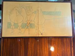 La Permanente Mobili Cant ITALIAN MID CENTURY HIGH STYLE BAR CABINET - 1236682