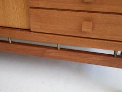 La Permanente Mobili Cant Teak and Brass Sideboard by La Permanente Mobili Cant  - 1597915