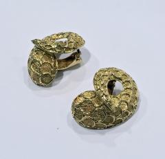 Lalaounis Lalaounis 18K Earrings Serpent Snake Greece C 1990 - 1190476