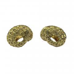 Lalaounis Lalaounis 18K Earrings Serpent Snake Greece C 1990 - 1191044