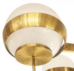 Lamperti Brass Chandelier by Lamperti Italy 1960s - 466286