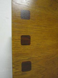 Lane Furniture Handsome Pair Of Ribbed Front Plinth Base Lane Night Stands Mid century Modern - 1862490