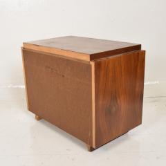 Lane Furniture Mid Century Modern Pair of Brutalist Walnut Nightstands by Lane - 886484