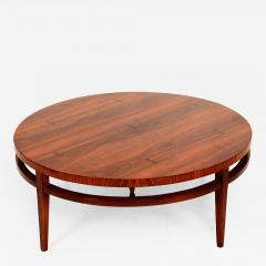 Lane Furniture Mid Century Modern Round Coffee Cocktail Table By Lane After  Paul McCobb   115433