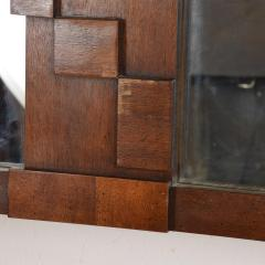 Lane Furniture Mid Century Modernist Brutalist Walnut Mirror by LANE - 885219