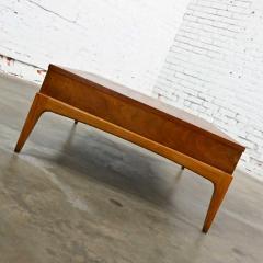 Lane Furniture Mid century modern lane rhythm collection walnut rectangular coffee table - 2130331
