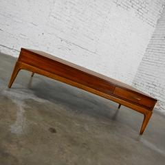 Lane Furniture Mid century modern lane rhythm collection walnut rectangular coffee table - 2130358