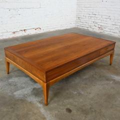 Lane Furniture Mid century modern lane rhythm collection walnut rectangular coffee table - 2130359