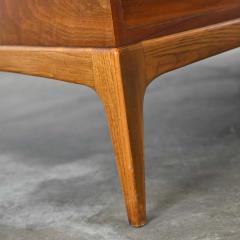 Lane Furniture Mid century modern lane rhythm collection walnut rectangular coffee table - 2130361