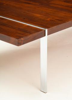 Lane Furniture Rosewood and chrome coffee table by Lane - 929975
