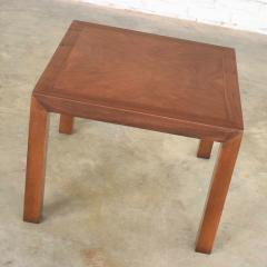 Lane Furniture Vintage modern lane solid walnut square parsons table w inlay style 1124 18 - 1588605
