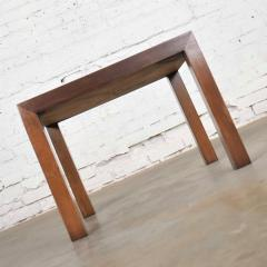 Lane Furniture Vintage modern lane solid walnut square parsons table w inlay style 1124 18 - 1588647