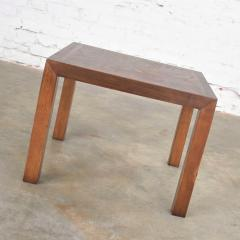 Lane Furniture Vintage modern lane solid walnut square parsons table w inlay style 1124 18 - 1588652
