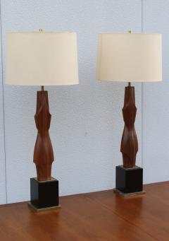 Laurel Lamp Company 1960s Sculptural Large Table Lamps By Laurel - 767658