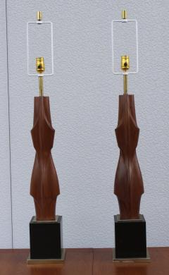 Laurel Lamp Company 1960s Sculptural Large Table Lamps By Laurel - 767660