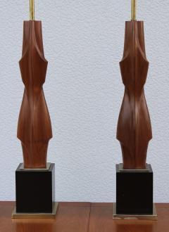 Laurel Lamp Company 1960s Sculptural Large Table Lamps By Laurel - 767661