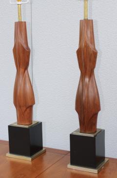 Laurel Lamp Company 1960s Sculptural Large Table Lamps By Laurel - 767665