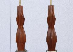 Laurel Lamp Company 1960s Sculptural Large Table Lamps By Laurel - 767666