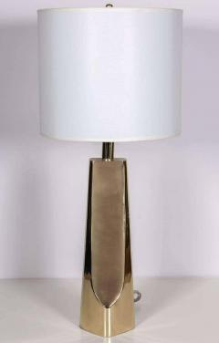 Laurel Lamp Company Laurel Modernist Brass Lamps - 1696742