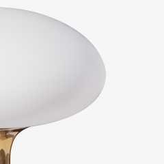 Laurel Lamp Company Mushroom Table Lamp in Brass in the manner of Bill Curry by Laurel Lamp Company - 1623552