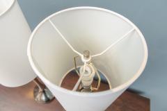 Laurel Lamp Company Pair of Chrome Table Lamps by Laurel - 1709299