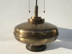 Laurel Lamp Company Pair of Large Scale Antiqued Bronze Lamps - 530836