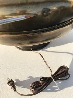 Laurel Lamp Company Pair of Large Scale Antiqued Bronze Lamps - 530840