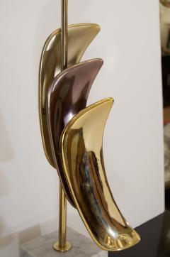 Laurel Lamp Company Pair of Sculptural Laurel Table Lamps - 137004