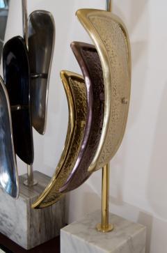 Laurel Lamp Company Pair of Sculptural Laurel Table Lamps - 137007