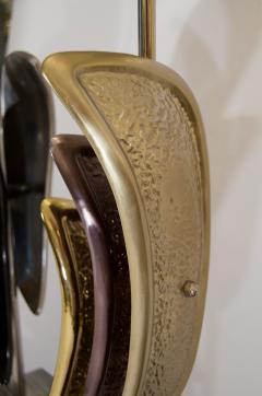Laurel Lamp Company Pair of Sculptural Laurel Table Lamps - 137008