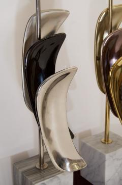 Laurel Lamp Company Pair of Sculptural Laurel Table Lamps - 137009