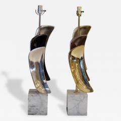 Laurel Lamp Company Pair of Sculptural Laurel Table Lamps - 140093