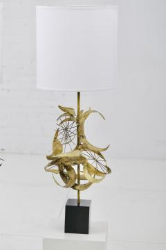 Laurel Lamp Company Sculptural Brass Table Lamps by Laurel - 1566784