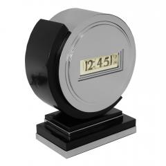 Lawson Time Inc Early Lawson Streamline Art Deco Clock - 1072061