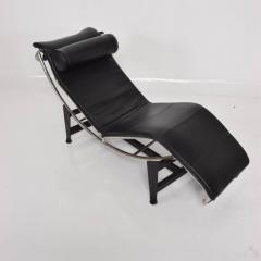 Awesome Le Corbusier Le Corbusier Lounge Chair Mid Century Modern Black Leather    565075