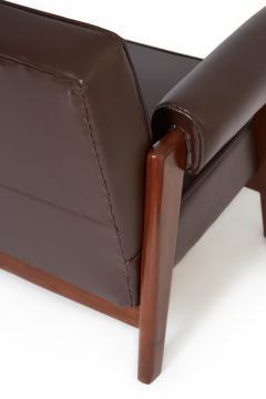 Le Corbusier Rare Advocate Sofa by Le Corbusier and Pierre Jeanneret PJ SI 42 B  - 1137477