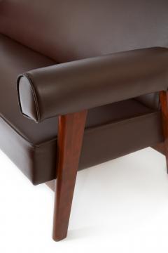 Le Corbusier Rare Advocate Sofa by Le Corbusier and Pierre Jeanneret PJ SI 42 B  - 1137478