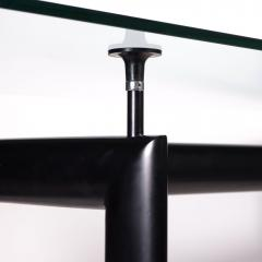 Le Corbusier Table Le Corbusier Cassina Glass Metal 1980s - 2094676
